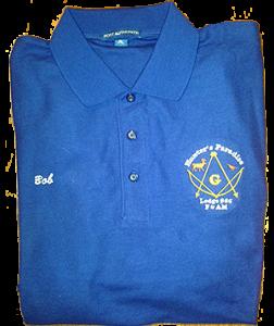Blue polo300x357